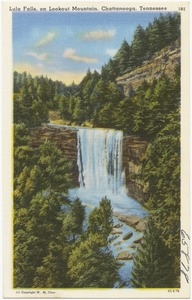 Lula Falls, on Lookout Mountain, Chattanooga, Tennessee