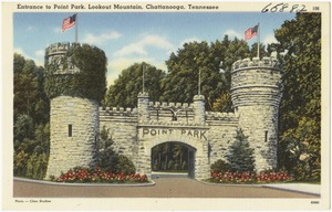 Entrance to Point Park, Lookout Mountain, Chattanooga, Tennessee