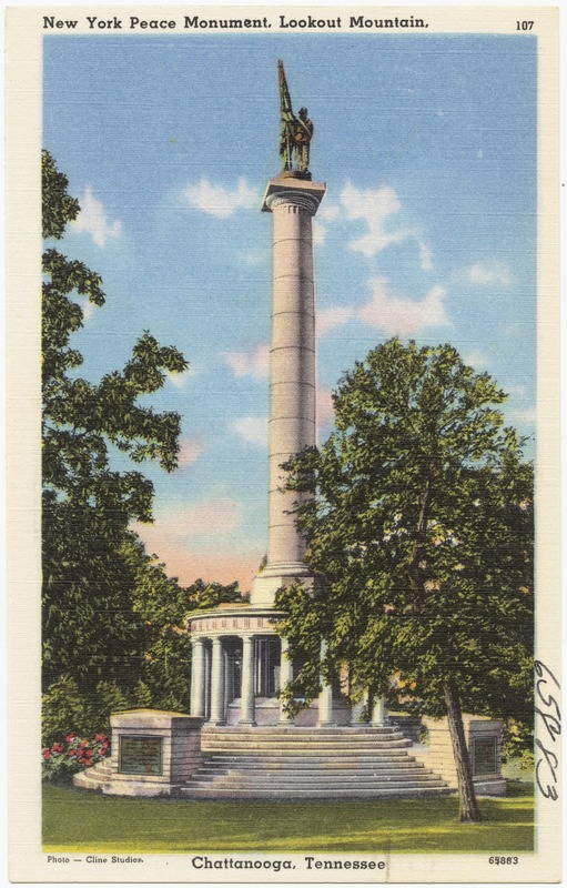 New York Peace Monument, Lookout Mountain, Chattanooga, Tennessee