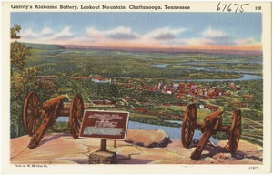 Garrity's Alabama Battery, Lookout Mountain, Chattanooga, Tennessee