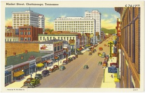 Market Street, Chattanooga, Tennessee