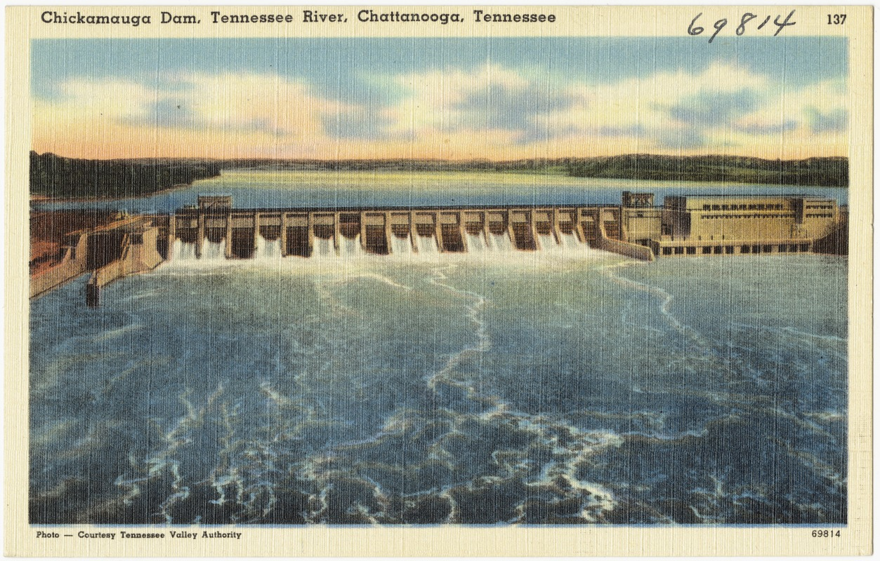 Chickamauga Dam, Tennessee River, Chattanooga, Tennessee