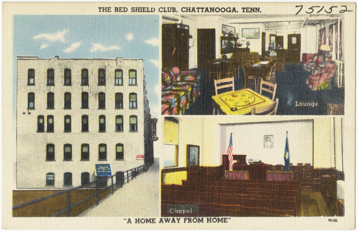 """The Red Shield Club, Chattanooga, Tenn., """"A home away from home"""""""
