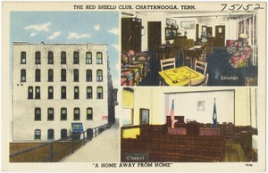 "The Red Shield Club, Chattanooga, Tenn., ""A home away from home"""