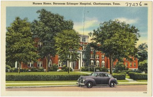 Nurses home, Baroness Erlanger Hospital, Chattanooga, Tenn.