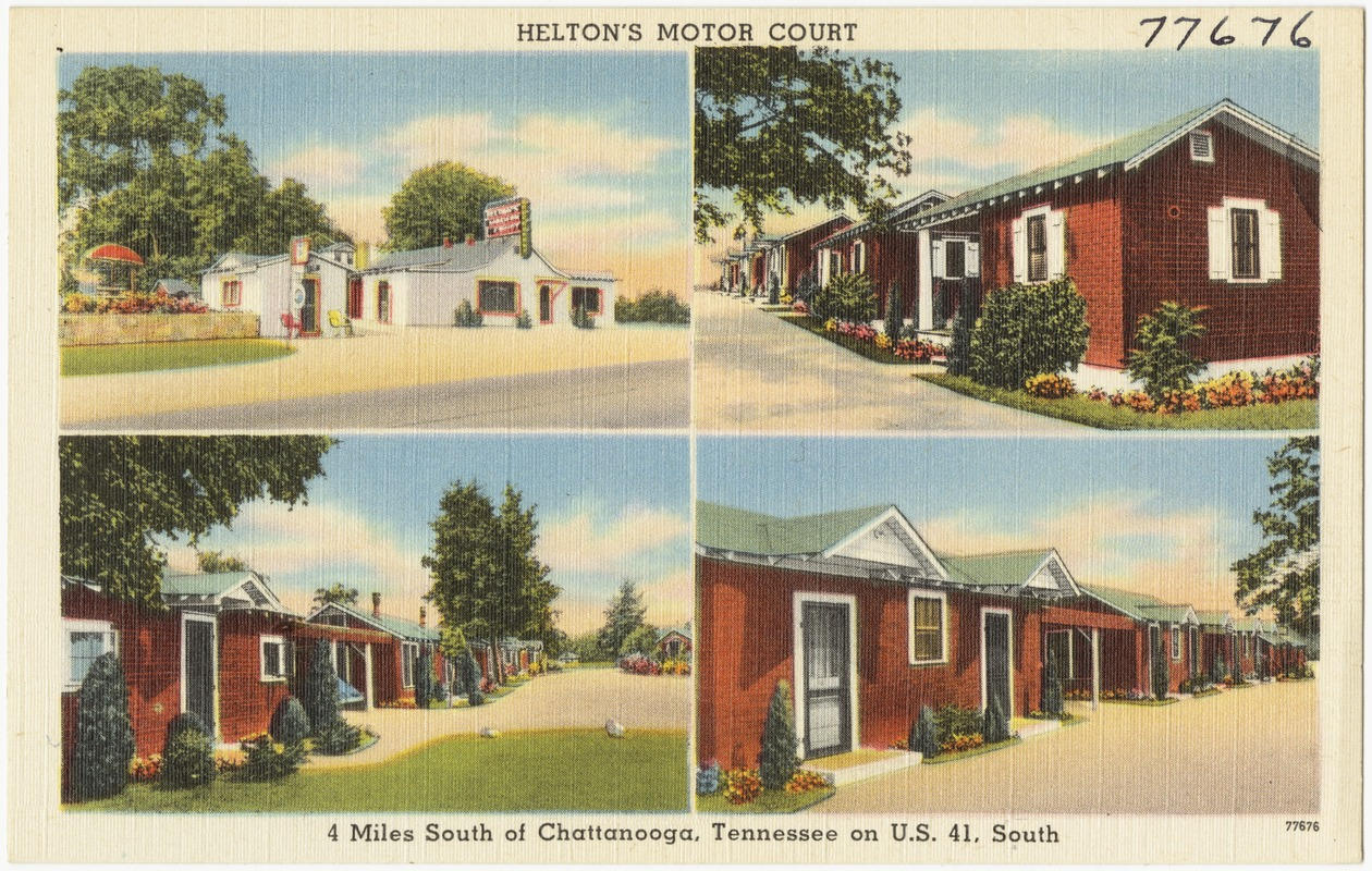Helton's Motor Court, 4 miles south of Chattanooga, Tennessee on U.S. 41, south