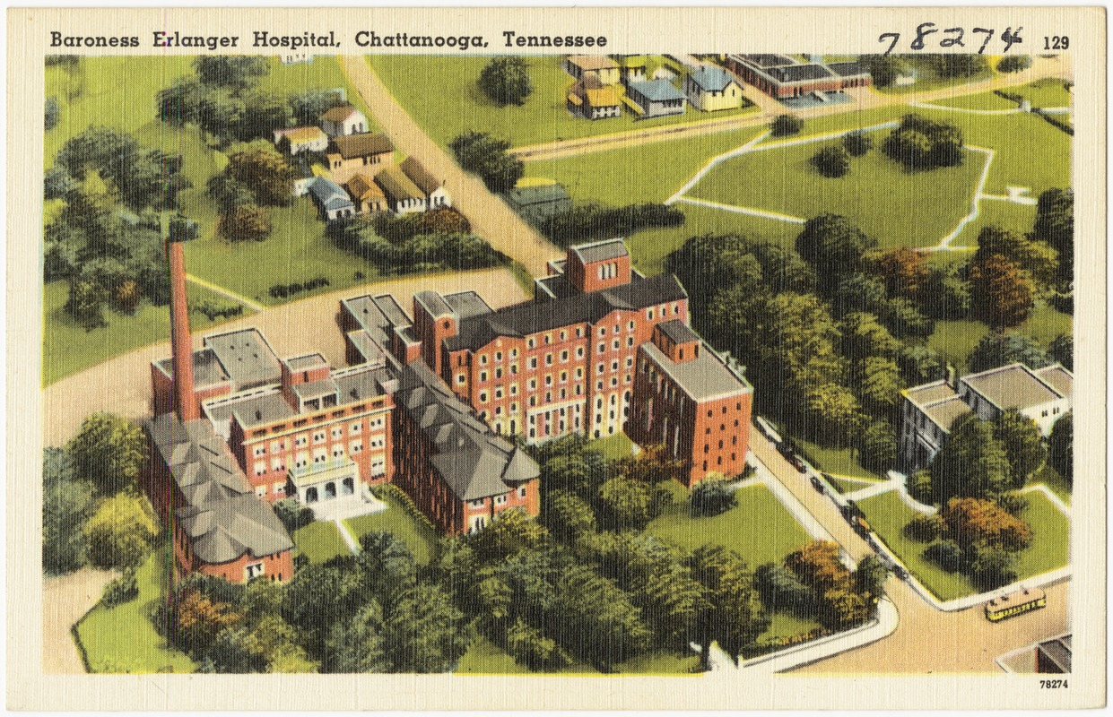 Baroness Erlanger Hospital, Chattanooga, Tennessee