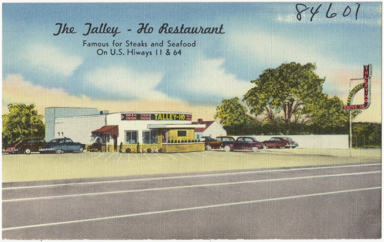 The Jalley - Ho Restaurant, famous for steak and seafood, on U.S. Hiway 11 & 64