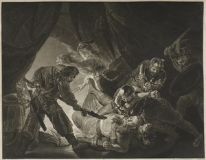 Samson Blinded by the Philistines