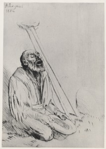 Blind and Disabled Beggar, Alphonse Legros