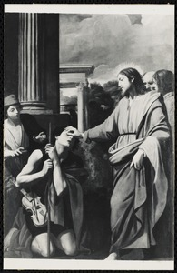 Christ Healeth the Blind, Carracci