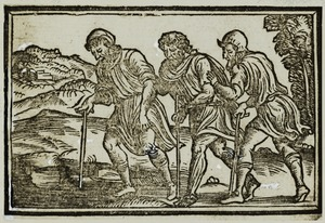 Blind Leading the Blind, Luigi Groto, 1535