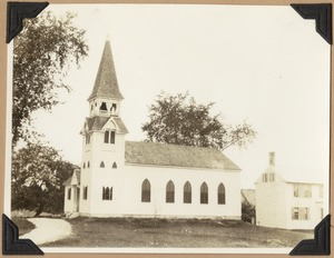 Carlisle Congregational Church as altered in 1882.
