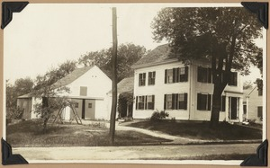 Congregational parsonage- Lowell Street