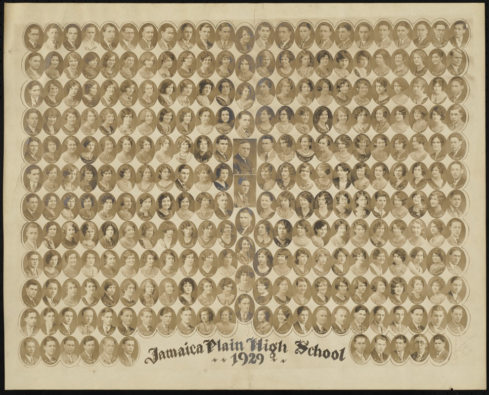 Jamaica Plain High School. 1929
