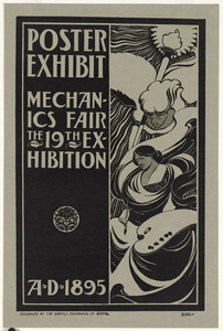 Poster exhibit, Mechanics Fair, the 19th exhibition