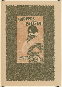 Harper's bazar, Thanksgiving number, 1895