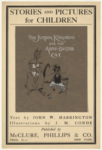 Stories and pictures for children. The jumping kangaroo and the apple-butter cat