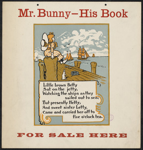 Mr. Bunny - his book, for sale here