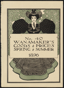 No. 40. Wanamaker's goods & prices, spring & summer 1896