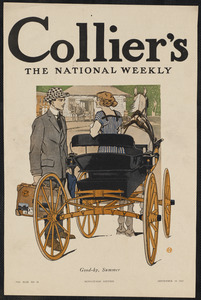 Collier's, the national weekly. Good-by, summer.