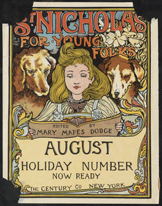 St. Nicholas for young folks, August. Holiday number now ready