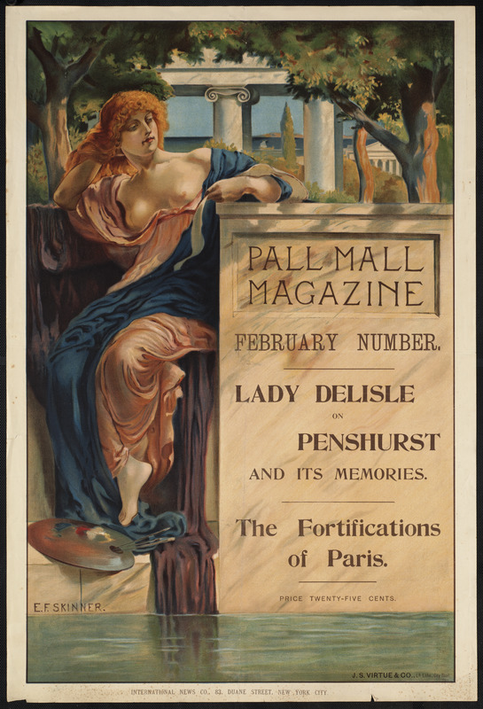 Pall mall magazine, February number.