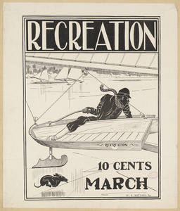 Recreation, 10 cents, March