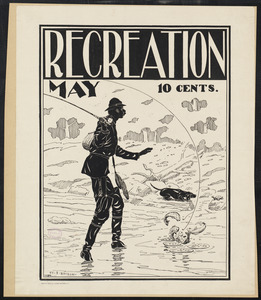 Recreation, May, 10 cents