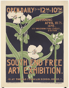 South End free art exhibition.
