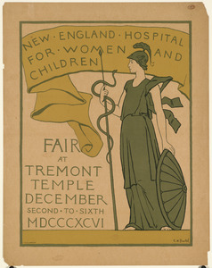 New England hospital for women and children fair at Tremont Temple