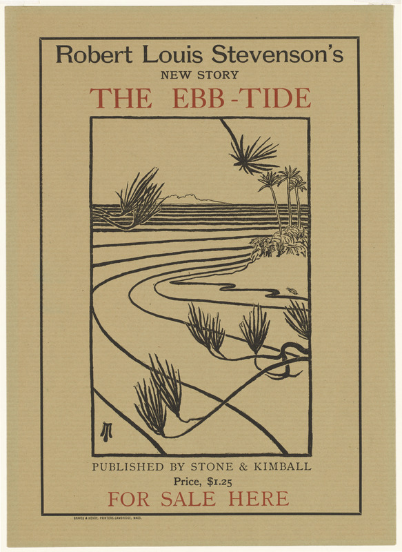 Robert Louis Stevenson's new story, The ebb-tide