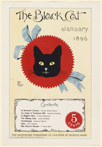 The black cat, January 1896.