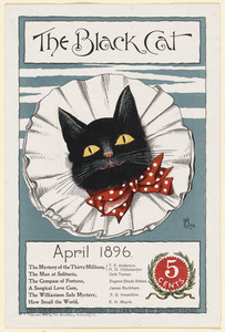 The black cat, April 1896.