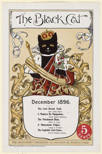 The black cat, December 1896.