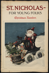 St. Nicholas - for young folks, Christmas number