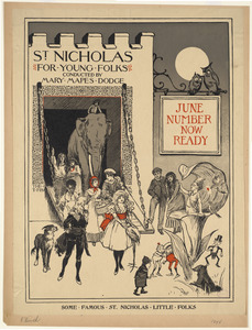 St. Nicholas for young folks conducted by Mary Mapes Dodge, June number now ready