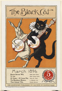 The black cat, March 1896.