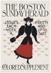 The Boston Sunday herald colored supplement