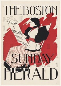 The Boston Sunday herald, Feb. 10. A special number for ladies.
