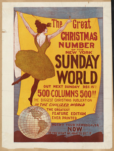 The great Christmas number of the New York Sunday world