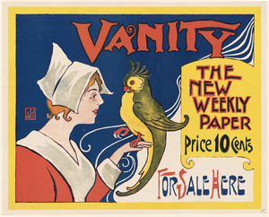 Vanity, the new weekly paper, for sale here