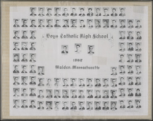 Boys Catholic High School, 1962, Malden, Massachusetts