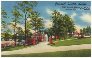 Colonial Motor Lodge, 2720 Stewart Avenue, Atlanta, Ga.