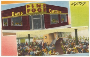 Davis' Fine Food in the heart of Atlanta's Shopping, Hotel & Theater District