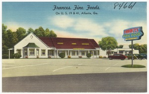 Frances Fine Foods on U. S. 19 & 41, Atlanta, Ga.