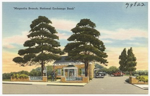 """Magnolia Branch, National Exchange Bank"""