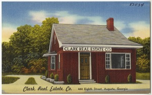 Clark Real Estate Co., 444 Eighth Street, Augusta, Georgia