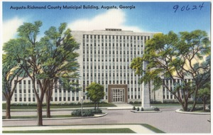 Augusta-Richmond County Municipal building, Augusta, Georgia
