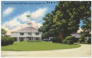 Augusta National Golf Club House, Augusta, Ga.